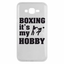 Чехол для Samsung J7 2015 Boxing is my hobby - FatLine