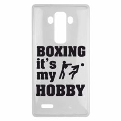 Чехол для LG G4 Boxing is my hobby - FatLine