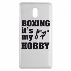 Чехол для Nokia 3 Boxing is my hobby - FatLine