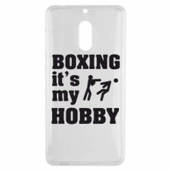 Чехол для Nokia 6 Boxing is my hobby - FatLine