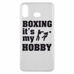 Чехол для Samsung A6s Boxing is my hobby - FatLine