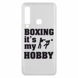 Чехол для Samsung A9 2018 Boxing is my hobby - FatLine