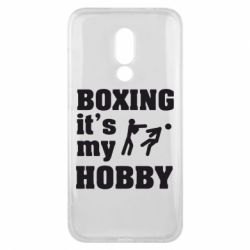 Чехол для Meizu 16x Boxing is my hobby - FatLine
