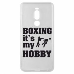 Чехол для Meizu Note 8 Boxing is my hobby - FatLine