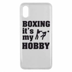 Чехол для Xiaomi Mi8 Pro Boxing is my hobby - FatLine