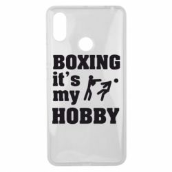 Чехол для Xiaomi Mi Max 3 Boxing is my hobby - FatLine