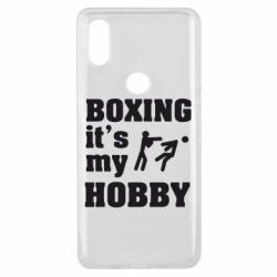 Чехол для Xiaomi Mi Mix 3 Boxing is my hobby - FatLine