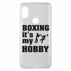 Чехол для Xiaomi Redmi Note 6 Pro Boxing is my hobby - FatLine