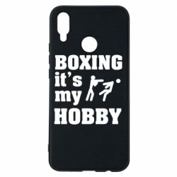 Чехол для Huawei P Smart Plus Boxing is my hobby - FatLine