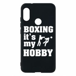 Чехол для Mi A2 Lite Boxing is my hobby - FatLine