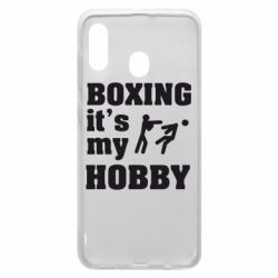 Чохол для Samsung A20 Boxing is my hobby