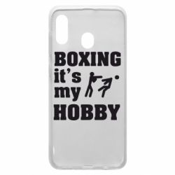 Чохол для Samsung A30 Boxing is my hobby