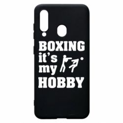 Чохол для Samsung A60 Boxing is my hobby