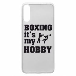 Чохол для Samsung A70 Boxing is my hobby