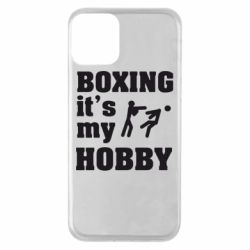 Чохол для iPhone 11 Boxing is my hobby