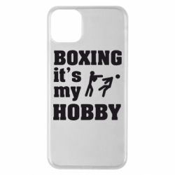 Чехол для iPhone 11 Pro Max Boxing is my hobby