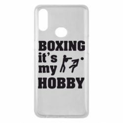 Чехол для Samsung A10s Boxing is my hobby