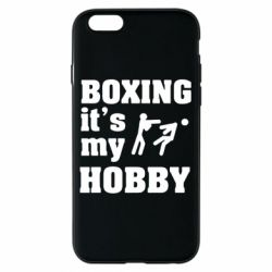 Чехол для iPhone 6/6S Boxing is my hobby - FatLine