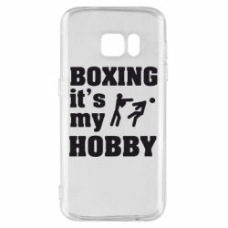 Чехол для Samsung S7 Boxing is my hobby - FatLine