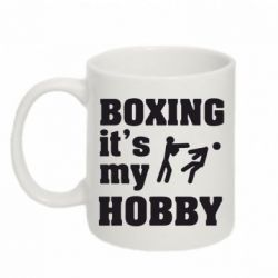 Кружка 320ml Boxing is my hobby - FatLine