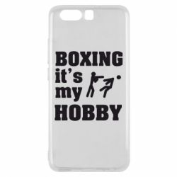 Чехол для Huawei P10 Boxing is my hobby - FatLine