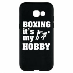 Чехол для Samsung A5 2017 Boxing is my hobby - FatLine