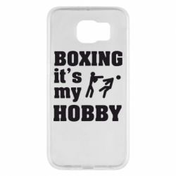Чехол для Samsung S6 Boxing is my hobby - FatLine