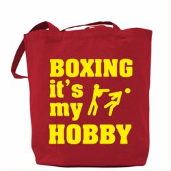 Сумка Boxing is my hobby
