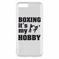 Чехол для Xiaomi Mi6 Boxing is my hobby - FatLine