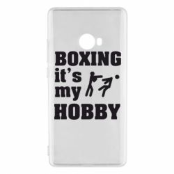 Чехол для Xiaomi Mi Note 2 Boxing is my hobby - FatLine