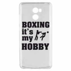 Чехол для Xiaomi Redmi 4 Boxing is my hobby - FatLine