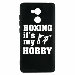 Чехол для Xiaomi Redmi 4 Pro/Prime Boxing is my hobby - FatLine