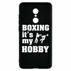Чехол для Xiaomi Redmi 5 Boxing is my hobby - FatLine