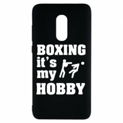 Чехол для Xiaomi Redmi Note 4 Boxing is my hobby - FatLine