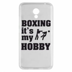 Чехол для Meizu M5c Boxing is my hobby - FatLine