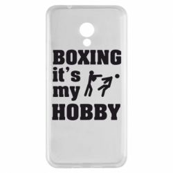 Чехол для Meizu M5s Boxing is my hobby - FatLine