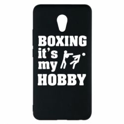 Чехол для Meizu M5 Note Boxing is my hobby - FatLine