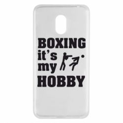 Чехол для Meizu M6 Boxing is my hobby - FatLine