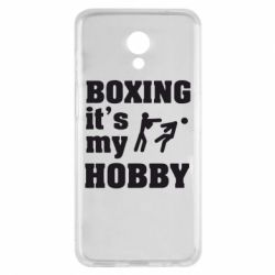Чехол для Meizu M6s Boxing is my hobby - FatLine