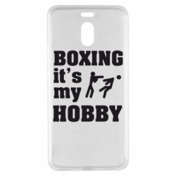 Чехол для Meizu M6 Note Boxing is my hobby - FatLine