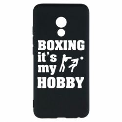 Чехол для Meizu Pro 6 Boxing is my hobby - FatLine
