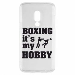 Чехол для Meizu 15 Boxing is my hobby - FatLine
