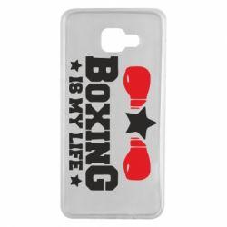 Чохол для Samsung A7 2016 Boxing is my life