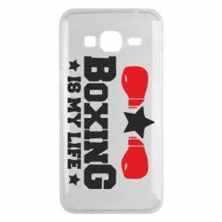 Чохол для Samsung J3 2016 Boxing is my life