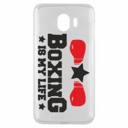 Чохол для Samsung J4 Boxing is my life