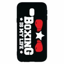 Чохол для Samsung J3 2017 Boxing is my life