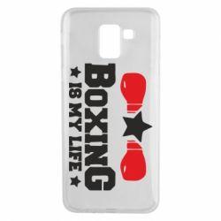 Чохол для Samsung J6 Boxing is my life