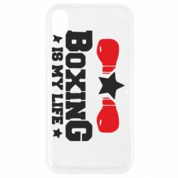 Чохол для iPhone XR Boxing is my life