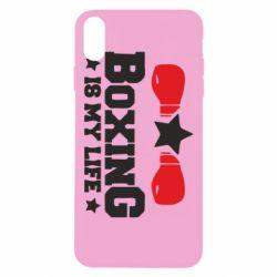 Чохол для iPhone Xs Max Boxing is my life