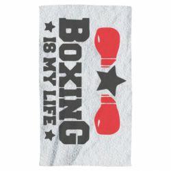 Рушник Boxing is my life